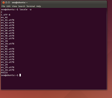 Локали Ubuntu